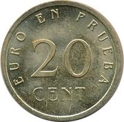 20 Euro Cent (Churriana) – reverse