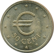 50 Euro Cent (Churriana) – obverse