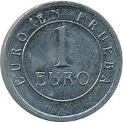 1 Euro (Churriana) – reverse