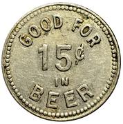 15 Cents - Jefferson Tavern (Hartford, CT) – reverse