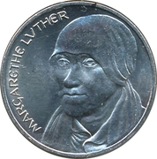 Token - 450 years of Reformation (Margarethe Luther) – obverse