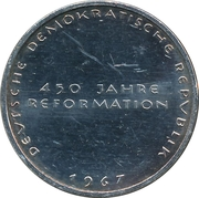 Token - 450 years of Reformation (Katharina von Bora) – reverse