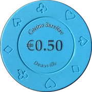 50 Cents - Casino Barriere (Deauville) – obverse