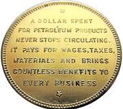 So-called-dollar - Golden Gate Exposition (Petroleum - Type I) – reverse