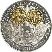 Coin-medal (1200 Years of German Coinage - Deutscher Goldgulden 1419) – obverse
