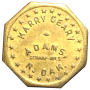 5 Cents - Harry Geary – obverse