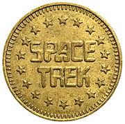 Token - Space Trek – obverse