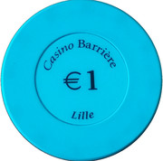1 Euro - Casino Barriere (Lille) – reverse