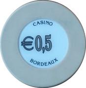 50 Cents - Casino Bordeaux – reverse