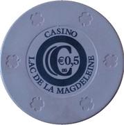 50 Cents - Casino Lac de la Magdeleine – reverse