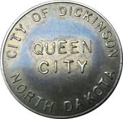 Parking Token - Queen City (City of Dickinson, North Dakota) – obverse