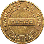Token - Namco Dreamland – obverse