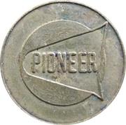 Car Wash Token - Pioneer – obverse
