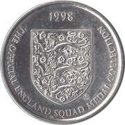 Token - Sainsbury's Official England Squad 1998 (Robert Lee) – reverse