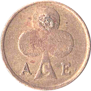 Token - Ace Cafe (Countermarked) – reverse