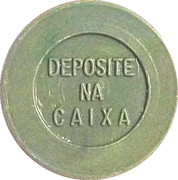 Token - PAN 910 (round, letter height 4.5 mm) – reverse