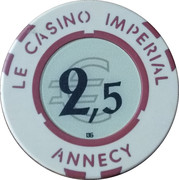 2.5 Euro - Casino Imperial (Annecy) – reverse