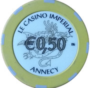 50 Cents - Casino Imperial (Annecy) – reverse