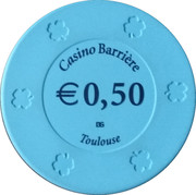 50 Cents - Casino Barriere (Toulouse) – obverse