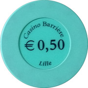 50 Cents - Casino Barriere (Lille) – reverse