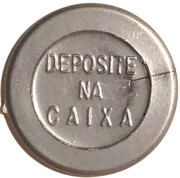 Token - PAN 322 (round, letter height 4.5 mm) – reverse