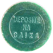 Token - PAN 328 (round, letter height 4.5 mm) – reverse