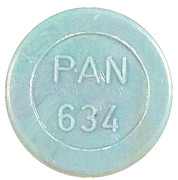 Token - PAN 634 (round, letter height 4.5 mm) – obverse