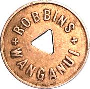 Milk Token - Robbins Wanganui (1 Pint) – obverse