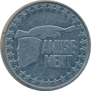 Amusement Token (Eagle) – obverse