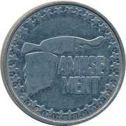 Amusement Token (Eagle) – reverse