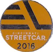 Token - Cincinnati Streetcar – obverse
