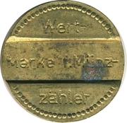 Telephone Token - Wert-Marke f. Münz-zähler – obverse