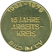 Token - Centralverband Deutscher Photographen – reverse