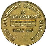1 Fare - Regional Transit Authority (New Orleans, Louisiana) – obverse