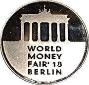 Lithuanian Mint Token - World Money Fair 2018 – obverse