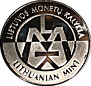 Lithuanian Mint Token - World Money Fair 2018 – reverse