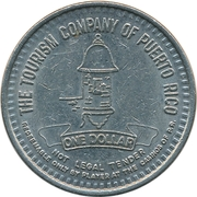 1 Dollar - The Tourism Company of Puerto Rico – obverse