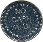 "Token - No Cash Value (Eagle looking left; ""Freedom""; Copper-nickel; 25.5 mm) – reverse"
