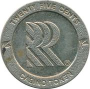 25 Cents - Casino Token RRR – obverse