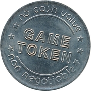 Game Token - The Magic Company Arcade – reverse