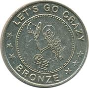Casino Gaming Token - Games Entertainment (Bronze) – reverse