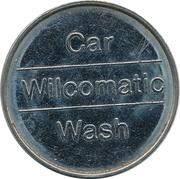 Car Wash Token - Wilcomatic – reverse