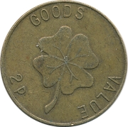 2 Pence - PS – reverse