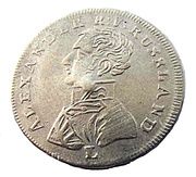 Counter Token - Alexander I (Ritter S. Georg) – obverse