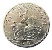 Counter Token - Alexander I (Ritter S. Georg) – reverse