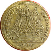 Counter Token (Ship, sun and moon PIV; Nuremberg) – obverse