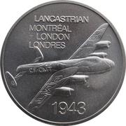 Medal - Inaugural Flight Montreal - London (Lancastrian) – obverse