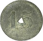 15 Pfennig (Chemnitz - Strassenbahn) – reverse
