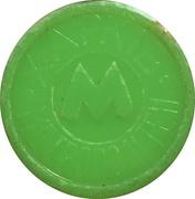 Metro Token - Kharkiv (Coat of arms 1781; Green opaque) – obverse