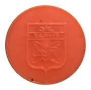 Metro Token - Kharkiv (Coat of arms 1968 -1995; Orange opaque) – reverse